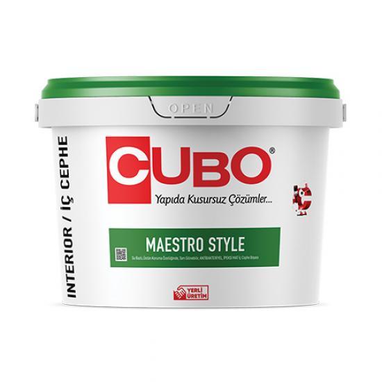 Cubo MaestroStyle Antibakteriyel İç Cephe Boyası 15 Lt + Cubo Süper Tavan Boyası Set