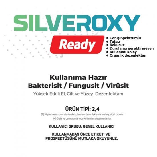 Silveroxy-A El Cilt ve Yüzey Dezenfektanı 1 KG - Sağlık Bakanlığı Onaylı