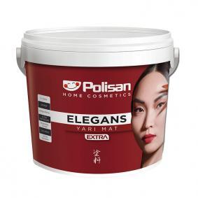 Polisan Elegans Extra Yarı Mat İç Cephe Boyası 2,5 Lt  Elegan Pembe