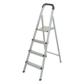 4 Basamaklı Statik Merdiven Gri