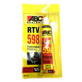 Abc Tüp Sıvı Conta Kırmızı Rtv 598