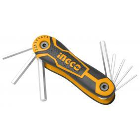 Ingco 8 Parça Hex Anahtar Seti Cr-v